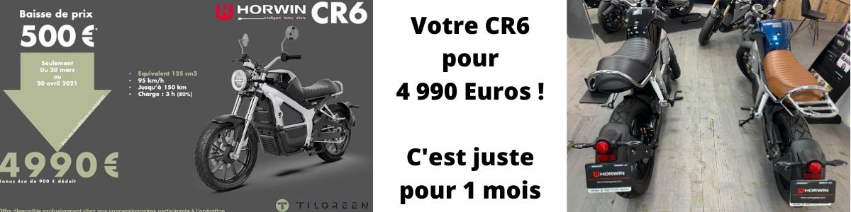 Horwin CR6 Lyon 4990 euros e-DC Center