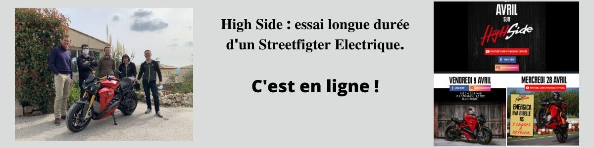 high Side Energica Lyon e-DC Center
