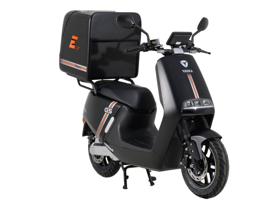 Yadea G5 Pro e-DC Center scooter électrique