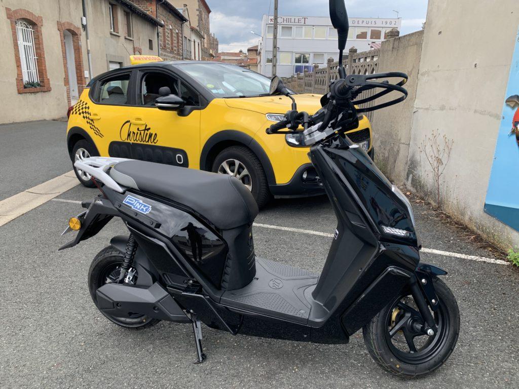 Moto ecole en scooter electrique Lyon