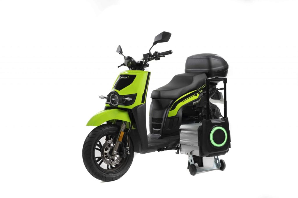 SILENCE S02 LOW SPEED PLUS Scooters electrqiues e-DC Center Lyon